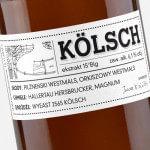 Projekt etykiety piwnej