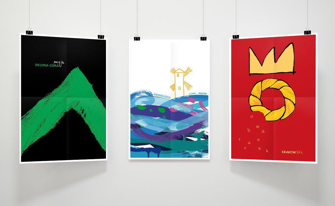 plakaty miast