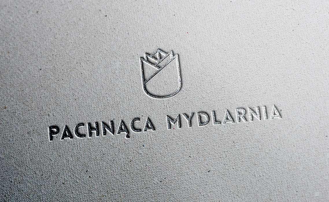 wizualizacja logo na papierze